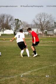 Boys Soccer - CPU vs Western Dubuque-4140