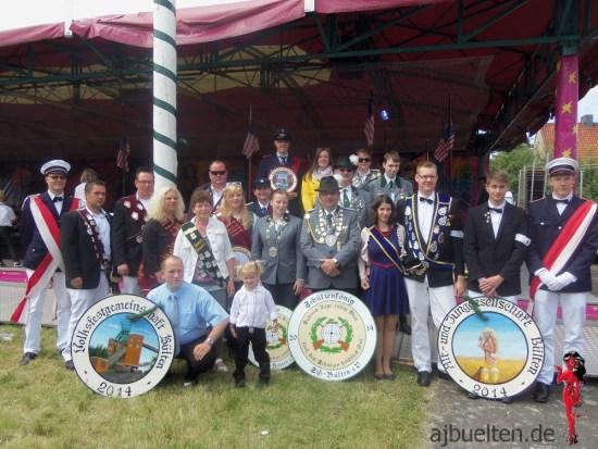 Die Majestäten 2014