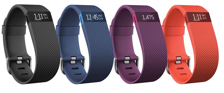There are also other colors of Fitbit Charge to choose from. Fitbit Charge HR Wireless Activity Wristband Review