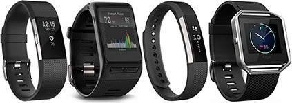 Current best selling fitness trackers