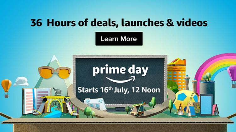 Tomorrow is Amazon Prime Day!