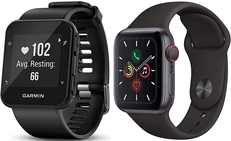 Apple Watch vs. Garmin Forerunner - which one is for you?