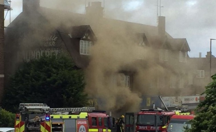 Five rescued from blaze at kosher supermarket in Golders Green