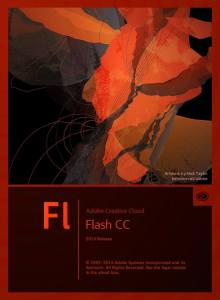 Adobe Flash CC 2014 Splash Screen