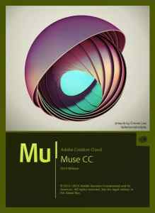 Adobe Muse CC 2014 Splash Screen