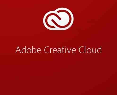 Adobe Creative Cloud Mobile Splash Screen