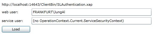 Silverlight and Integrated Authentication (5/6)