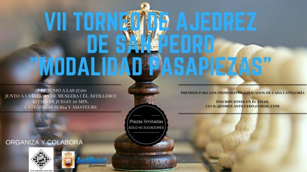 VII Torneo de Ajedrez de San Pedro-Pasapiezas