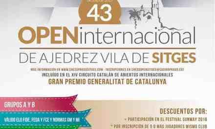 Comienza el Open Internacional Vila de Stiges