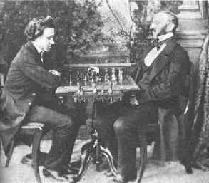 Clases ajedrez online Morphy vs Lowental 1. MAESTROS