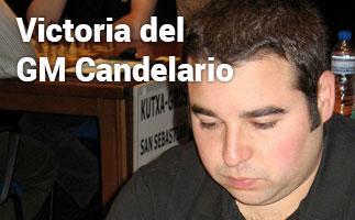 Victoria del Gran Maestro Manuel Pérez Candelario