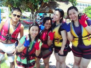 At Tanjung Benoa