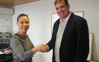 AJE Tenerife y Grupo Promovil acuerdan colaborar en futuras acciones