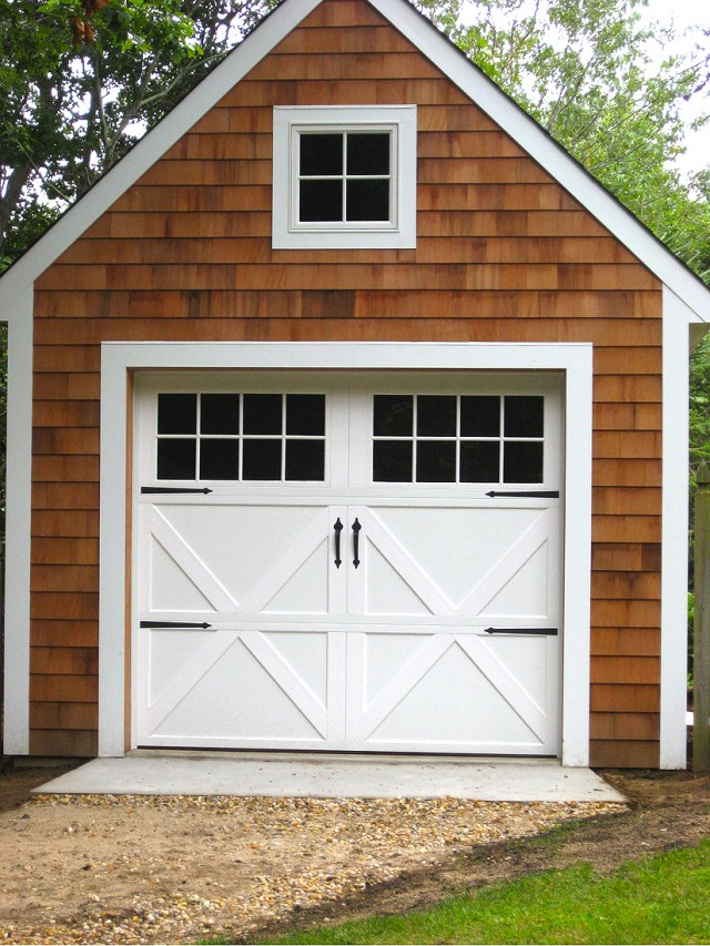 Steel Carriage House garage doors | AJ Garage Door - Long Island NY