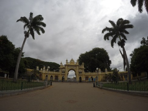 One of the palace entrances