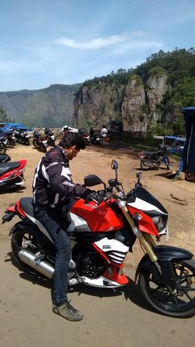 Me and my Mojo at pillar rocks!