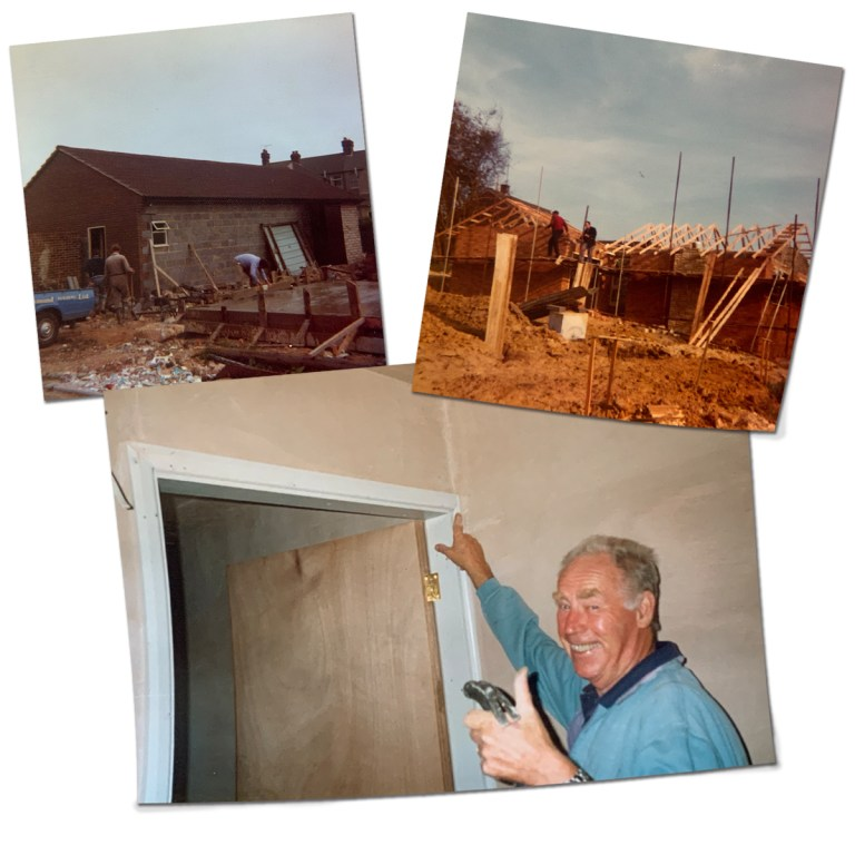 AJ Hammond Builders history old building photos of Bexhill-On-Sea East Sussex