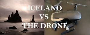 CRASHING DRONES.  MY ICELANDIC EXPERIENCE.