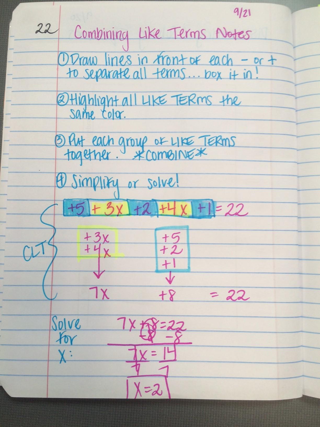 Unit 2 Equations Amp Inequalities