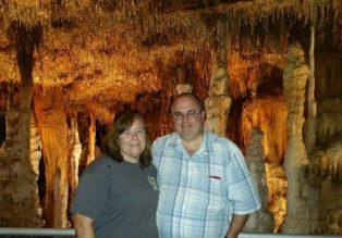 Arriving at Blanchard Springs Caverns