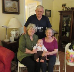 Great PawPaw, Nana, and Great-great Aunt Ann w/ Hershel
