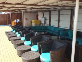 Additional lounge area in Serenity