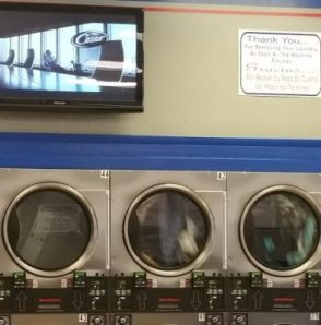Drying clothes - TV to watch while waiting