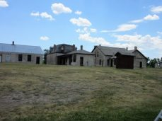 Buildings in the fort