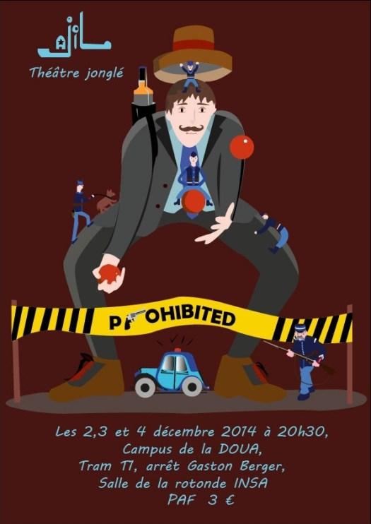 Affiche du spectacle