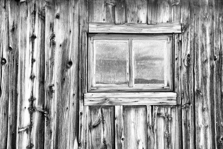 Weathered Window, Ballarat Store, Death Valley