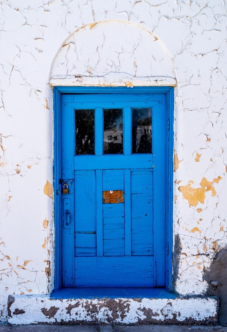 Weathered Door, Amargosa Hotel, Death Valley Junction