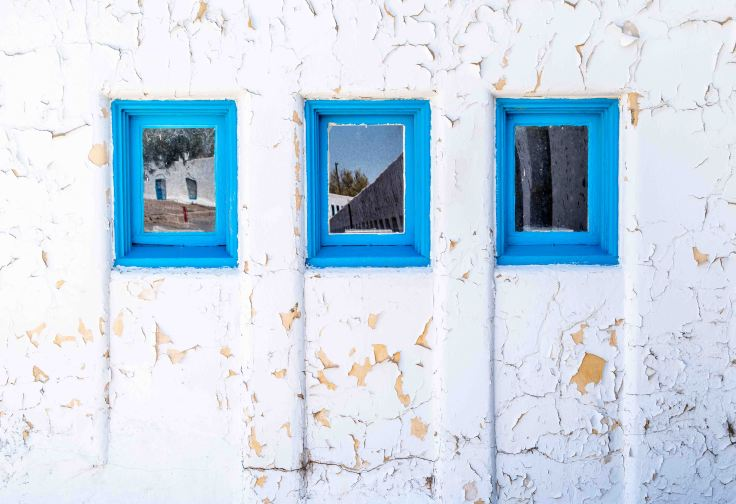 Three Windows, Amargosa Hotel, Death Valley Junction