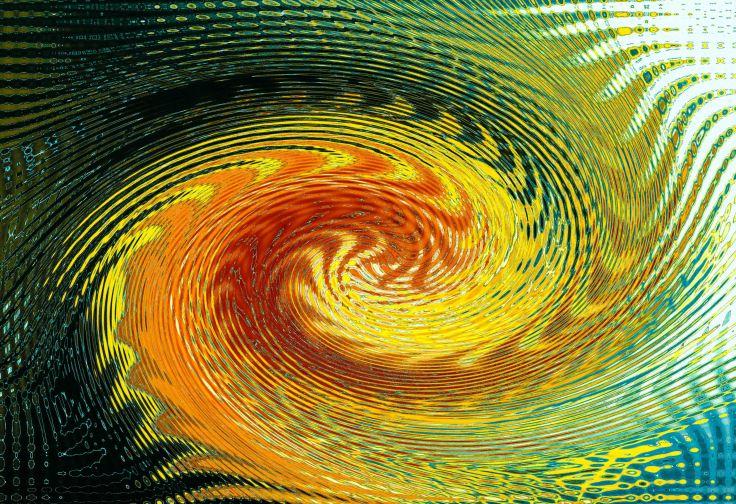 Cadmium Yellow Swirl 2, Photo by Allan J Jones