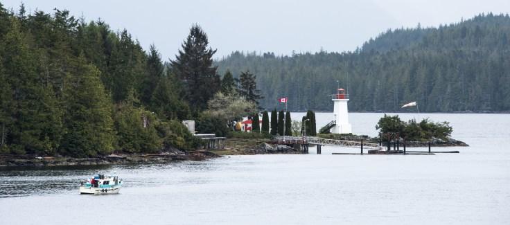 Lighthouse, Inside Passage, Photo by Allan J Jones