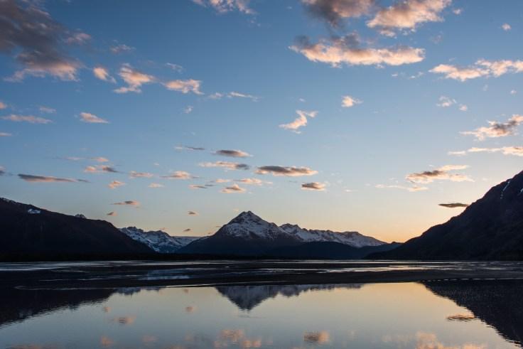 Chilkat Valley sunset, Photo by Allan J Jones
