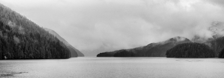 Mists on the Inside Passage, Photo by Allan J Jones