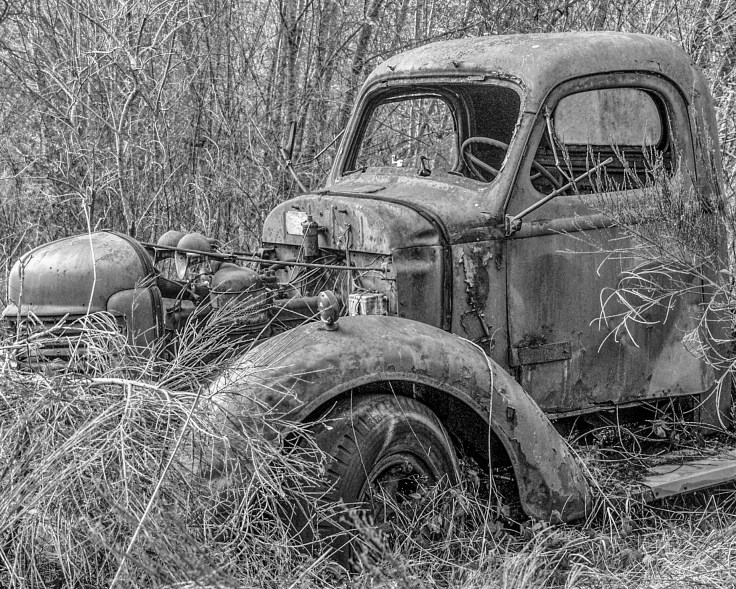 Old Truck, Resting by Allan J Jones Photography