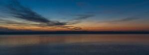Sunrise over Whidbey Island (6:02 AM) by Allan J Jones
