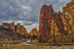 Smith Rocks by Allan J Jones Photography