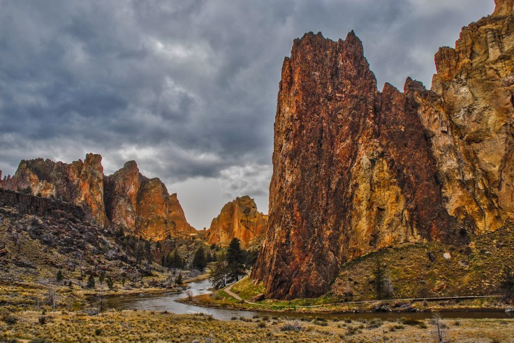 Smith Rocks by Allan J Jones Photography