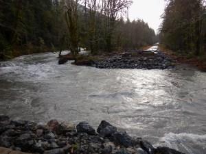 Elwha River Washout by Allan J Jones Photography