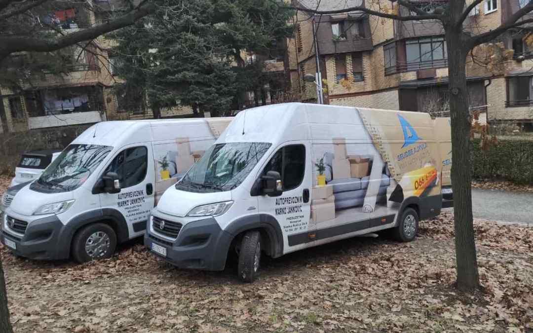 Preseljenje i transport robe u Beograd