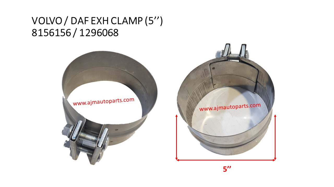 volvo fm12 daf exhaust clamp 5 8156156