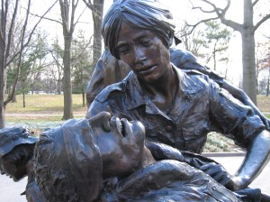 Vietnam Women's Memorial, Washington, DC. Courtesy of Kay Schwebke.