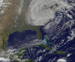 Hurricane Sandy/NASA Goddard photo