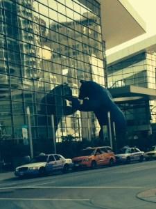 Big Blue Bear, Colorado Convention Center, Denver