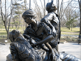 Vietnam Women's Memorial, courtesy of Kay Schwebke