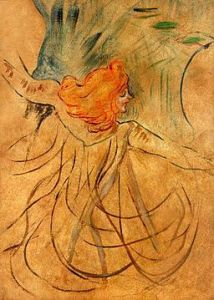 Loïe Fuller sketched by Henri de Toulouse-Lautrec/via Wikimedia Commons