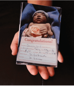 Maria Rosario Perez was one of the babies in the Washington State anencephaly clus- ter. Born May 25, 2012, she lived only 55 minutes. Photo by Erika Schultz / The Seattle Times.