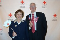 Sue and Bob Hassmiller. Photo courtesy of the American Red Cross.
